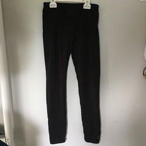 Black full length Reebok leggings